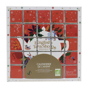 ENGLISH TEA SHOP PUZZLE ADVENT CALENDAR