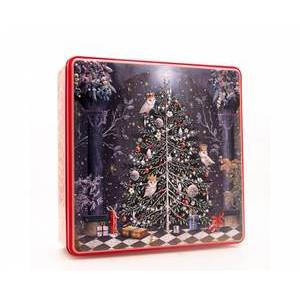 GRANDMA WILD'S TREE AND OWLS TIN 400G