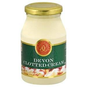 DEVON CLOTTED CREAM JAR 454g best by 28/02/2021