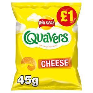WALKERS QUAVERS 45G