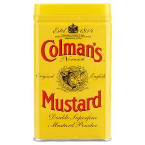 COLMANS DOUBLE SUPERFINE MUSTARD POWDER 57G
