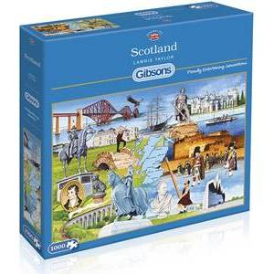 GIBSONS SCOTLAND PUZZLE 1000 PCS