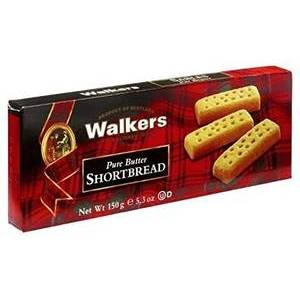 WALKERS SHORTBREAD FINGERS CARTON 150G