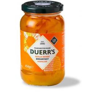 DUERR'S ORANGE MARMALADE 454G