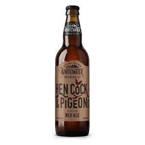 WHITEWATER BREWERY HEN COCK & PIGEON RED ALE 500ML