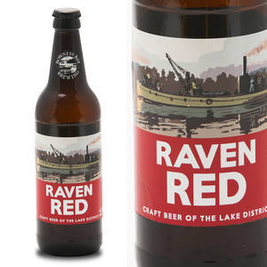 BOWNESS BAY BREWING RAVEN RED ALE 500ML