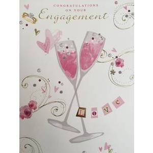 GREETING CARD - CONGRATULATIONS ON YOUR ENGAGEMENT