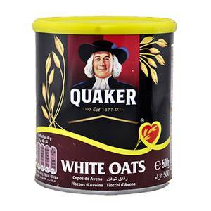 QUAKER OATS TIN 500G
