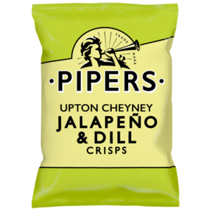 PIPERS CRISPS JALAPENO & DILL 40G