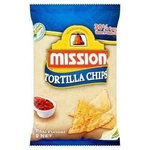 MISSION TORTILLA CHIPS 500G