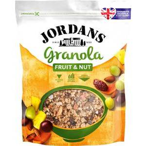 JORDANS GRANOLA FRUIT & NUT 370G