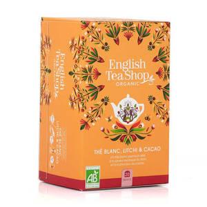 ENGLISH TEA SHOP WHITE TEA LYCHEE AND COCOA 20S