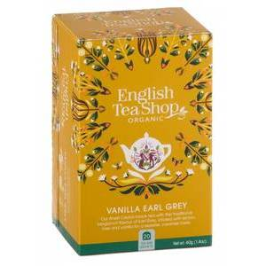 ENGLISH TEA SHOP VANILLA EARL GREY 20S