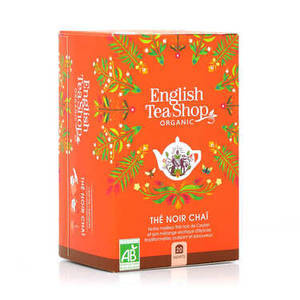 ENGLISH TEA SHOP BLACK TEA CHAI 20S