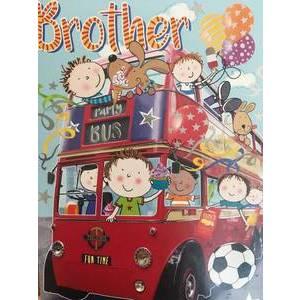 GREETING CARD - BIRTHDAY BROTHER