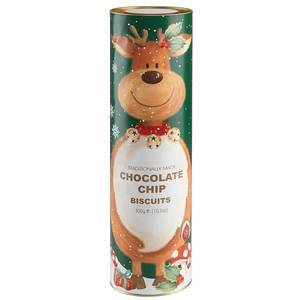 FARMHOUSE BISCUITS REINDEER TUBE 200G
