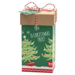 FARMHOUSE BISCUITS O CHRISTMAS TREE BOX 100G