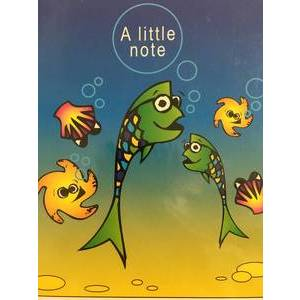 GREETING CARD - A LITTLE NOTE