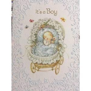 GREETING CARD - IT'S A BOY