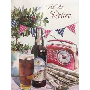 GREETING CARD - AS YOU RETIRE