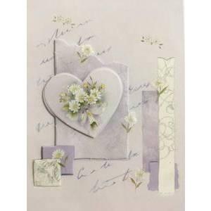 GREETING CARD - PURPLE HEART