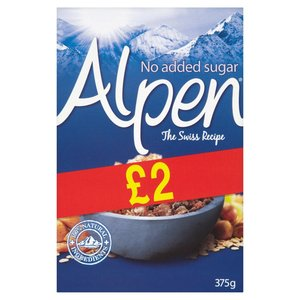 ALPEN MUESLI 560G NO ADDED SUGAR