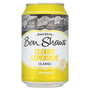 BEN SHAW CLOUDY LEMONADE 330ML