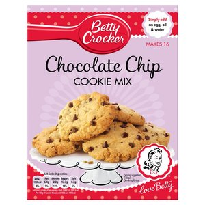 BETTY CROCKER CHOCOLATE CHIP COOKIE MIX best by 07/03/2019