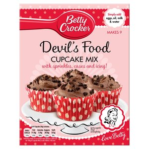 BETTY CROCKER CUPCAKE MIX & KIT best by 30/09/2017