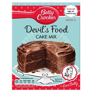 BETTY CROCKER 'DEVIL'S FOOD' PREPARATO PER TORTA AL CIOCCOLATO 500G