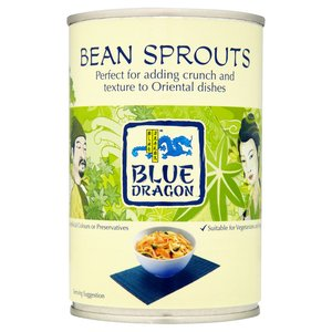 BLUE DRAGON BEAN SPROUTS 410G best by 02/2019