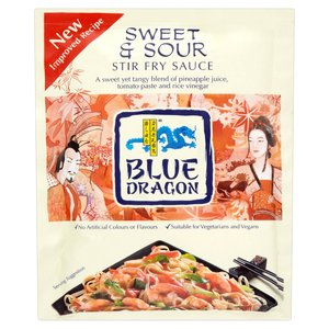 BLUE DRAGON SWEET & SOUR, SACHET 150ML