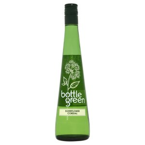 BOTTLE GREEN ELDERFLOWER CORDIAL 500ML
