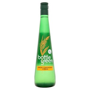BOTTLEGREEN GINGER & LEMONGRASS CORDIAL 500ML