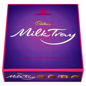 CADBURY DAIRY MILK TRAY 400G
