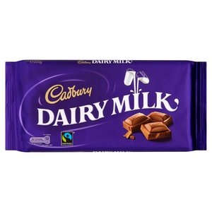 CADBURY DAIRY MILK 200G best by 05/07/2019