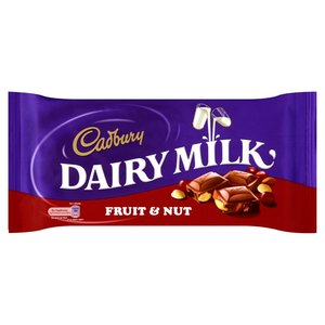 CADBURY DAIRY FRUIT & NUT 200G