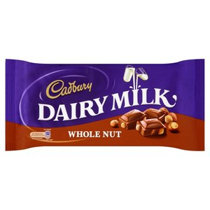 CADBURY DAIRY MILK WHOLE NUT 230G
