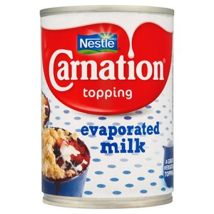CARNATION EVAPORATED MILK 410G best by 11/2018
