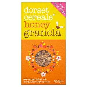 DORSET HONEY GRANOLA 550G