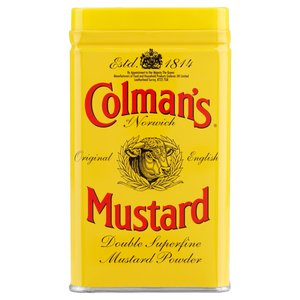 COLMANS DOUBLE SUPERFINE MUSTARD POWDER 113G