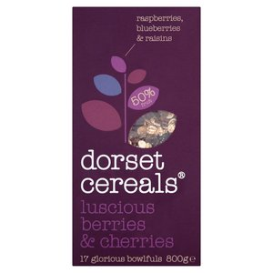 DORSET CEREALS BERRIES & CHERRIES 600G