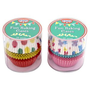 DR OETKER 75 FUN BAKING CASES