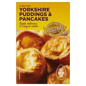 GOLDENFRY YORKSHIRE PUDDINGS & PANCAKE MIX 142G best by 11/2018