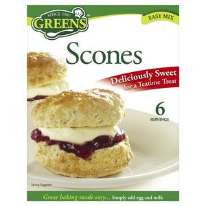 GREENS SCONES EASY MIX 280G best by 11/2018