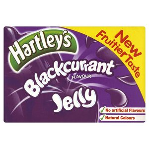 HARTLEY'S BLACKCURRANT JELLY 135G best by 06/2018