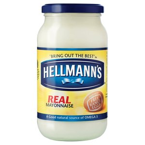 HELLMANN'S REAL MAYONNAISE 400G best by 07/2018