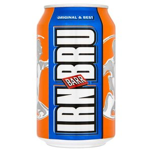IRON BRU CANS 330ML