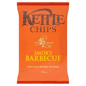 KETTLE CHIPS HONEY BARBEQUE 150G