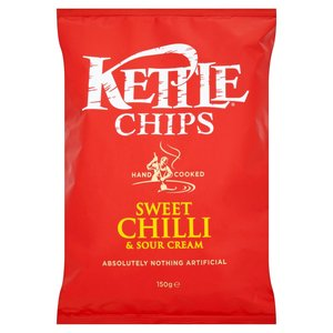 KETTLE® CHIPS SWEET CHILLI & SOUR CREAM 150G